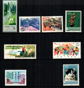 China PRC  8  different MNH