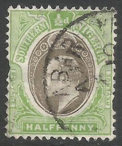 SOUTHERN NIGERIA 21 VFU P401-2