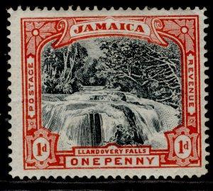JAMAICA QV SG32, 1d slate-black & red, M MINT. Cat £14.