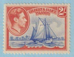 GILBERT & ELLICE ISLANDS 49  MINT LIGHTLY HINGED OG * NO FAULTS EXTRA FINE!