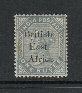 British East Africa, Sc 66 (SG 59), MHR (small toned spot gum)