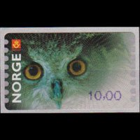 NORWAY 2002 - Scott# 5 Owl 10k NH