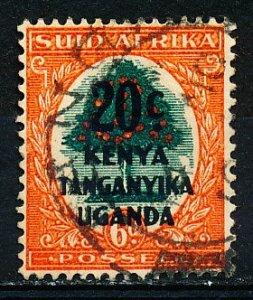Kenya Uganda & Tanzania #88b Single Used