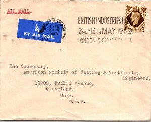Birmingham UK > Heating Ventilating Engineers Cleveland OH 1949 Brit Industries