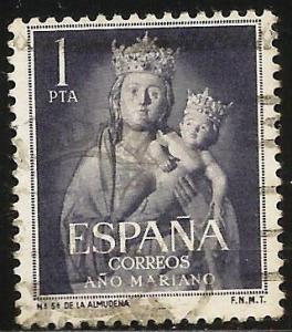 Spain 1954 Scott# 811 Used