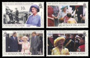 Cayman Islands 1999 Scott #782-785 Mint Never Hinged