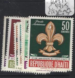 HAITI   (P0701B)  SCOUTS SC 491-5, C193-5  MOG
