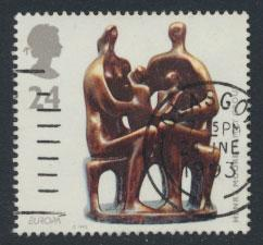 Great Britain SG 1767  Used  - Europa Art