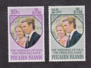 Pitcairn Islands 135-36, F-VF, MNH