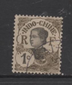 Indo-China Scott# 41 used single