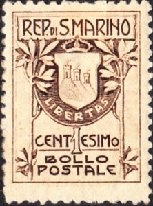 San Marino  #78   MH