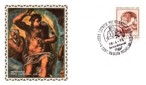 Italy, Worldwide First Day Cover, Art