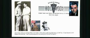 #3911 Henry Fonda - Lonegoat Junction Cachet #278