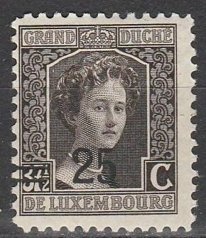Luxembourg #121 F-VF Unused (S2138)