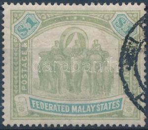 Malaysia stamp Malaysian federation Used 1900 Mi 23 WS172138