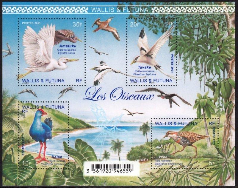 WALLIS & FUTUNA 2021 BIRDS OISEAUX VOGEL UCCELLO AVES [#2101]