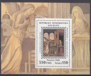 1989 Malagasy 1182/B103 Artist / Chima da Conegliano
