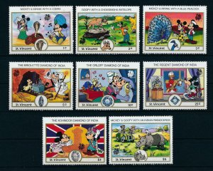 [23249] St. Vincent 1989 Disney Mickey Mouse in India MNH