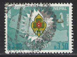 Nepal Scott # 336, used