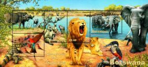 Botswana - 2001 Wetlands Chobe MS MNH** SG MS938
