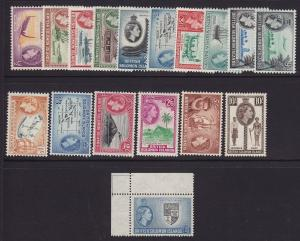 Solomon Is. scott # 89 - 105 Set VF mint never hinged scv $ 121 ! see pic !
