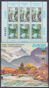 2001 Bosnia and Herzegovina SRPSKA 200C-201C/MH3 Europa CEPT 40,00 €