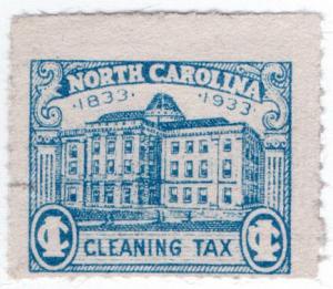 (I.B) US Revenue : Cleaning Tax 1c (North Carolina)