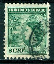 Trinidad & Tobago; 1953; Sc. # 82; O/Used Single Stamp