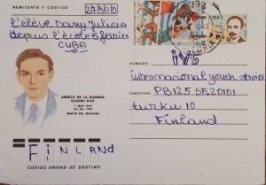 O) 1992 CUBA, CARIBBEAN, JOSE MARTI,OLYMPIC GAMES BARCELONA 1992,BOXING, AN