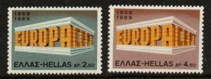Greece 947-8 MNH EUROPA