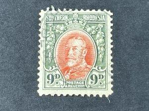 SOUTHERN RHODESIA # 24-USED---SINGLE---1934