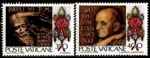 Vatican 1978 Sc. 694-695 MNH  (1354)