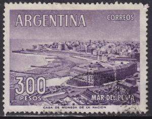 Argentina 705 Mar del Plata 1962