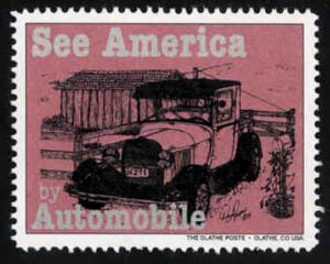 See America by Automobile #3 - Artistamp - Cinderella - MNH