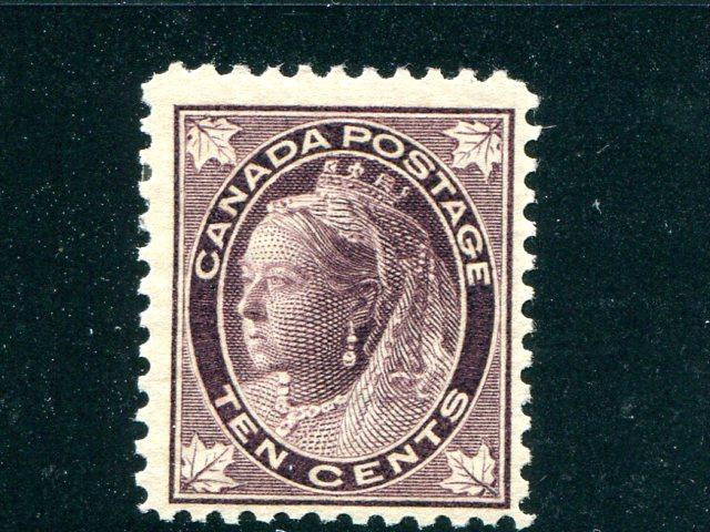 Canada #73   Mint F- VF  lightly hinged   - Lakeshore Philatelics
