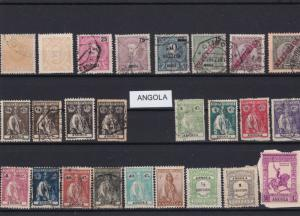 angola stamps ref 16427