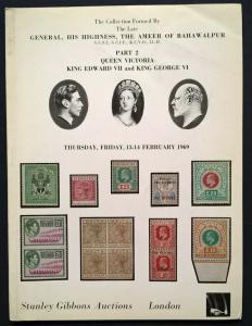 Auction Catalogue AMEER OF BAHAWALPUR   QUEEN VICTORIA, EDWARD VII and GEORGE VI