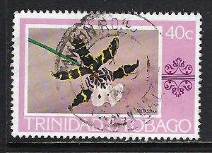 TRINIDAD & TOBAGO 286 VFU ORCHID X499-10