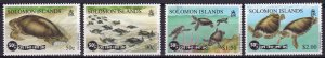 Solomon Islands 1997 Sc#853/856 TURTLES Set (4) MNH