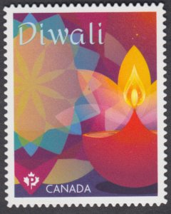 Canada - *NEW* Diwali 2020, Die Cut Stamp From Quarterly Pack - MNH