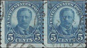 # 602 Used Dark Blue Theodore Roosevelt
