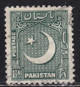 Pakistan 48 Coat of Arms 1949