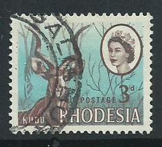 Rhodesia SG 376  FU