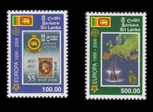 SRI LANKA. 50th Anniversary Of the First Europa Stamp. SCOTT # 1539 - 40. UNUSED