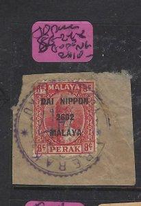 MALAYA JAPANESE OCCUPATION PERAK (P1508B)  SG J248  8C DN  PIECE  VFU