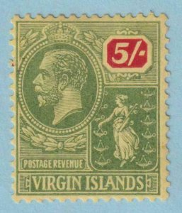 BRITISH VIRGIN ISLANDS 52  MINT HINGED OG * NO FAULTS VERY FINE!