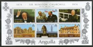 Anguilla 1974 Sir Winston Spencer Churchill Birth Centenary Sc 198a MNH # 6485