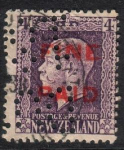 NEW ZEALAND Revenue FINE PAID GV 4d used...................................18450
