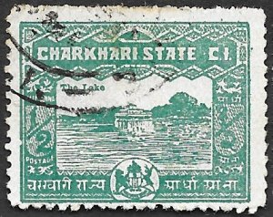 India-Charkari State Scott #29 Guesthouse (1931) Used
