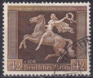 Germany #B119  F-VF Used CV $45.00 (Z3827)